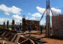 uso de água na construção civil