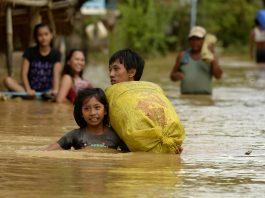 moradores filipinas desabrigados