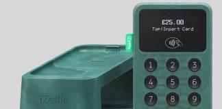 maquininha de pagamento produzida com plástico dos oceanos