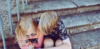 lição de casa e bondade