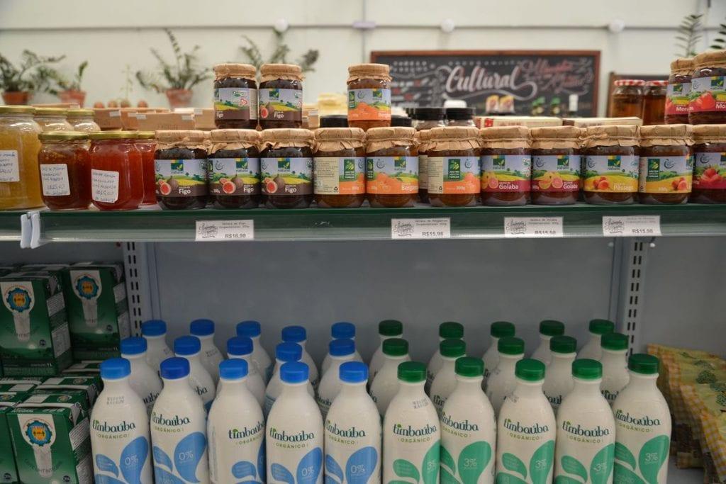 organicos nas prateleiras