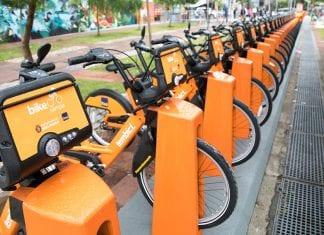 Tembici bikes economia de CO2