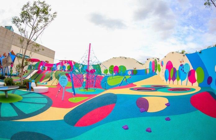 parque infantil sustentável