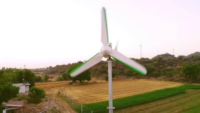 mini turbina eólica