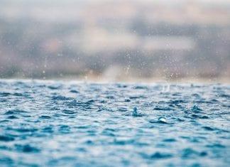 água da chuva