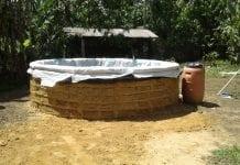 tanque de baixo custo