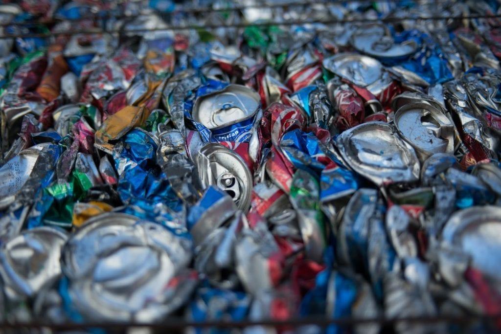 reciclagem alumínio