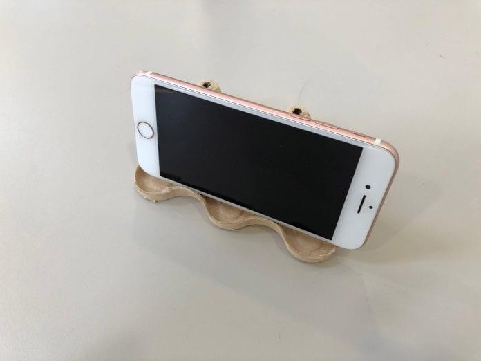 DIY egg box