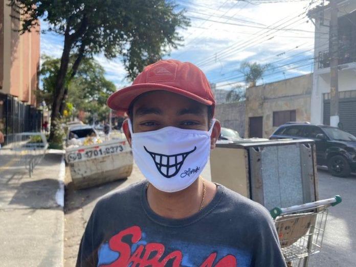 máscaras sorrisos catadores