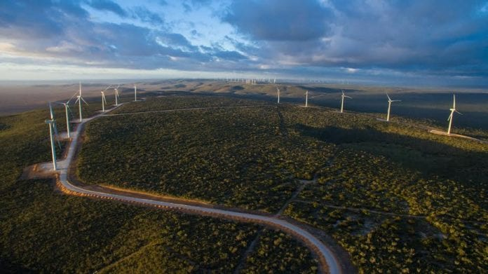 energia eólica na Bahia