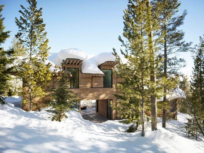casa para inverno