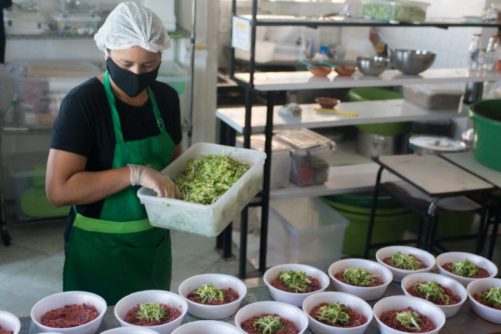 marmitas saudáveis greenpeace favela orgânica