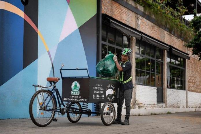 green mining reciclagem vidro