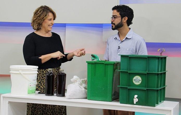 compostagem ECOlabora resíduos orgânicos
