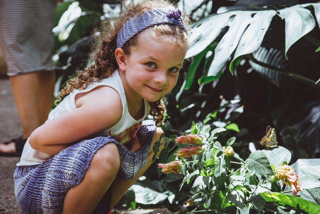 crianças e natureza