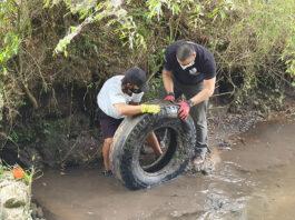 mutirão limpeza rios paraná