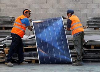 reciclagem painéis solares