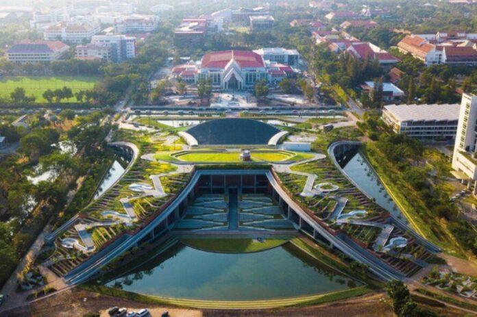 teto verde universidade asia