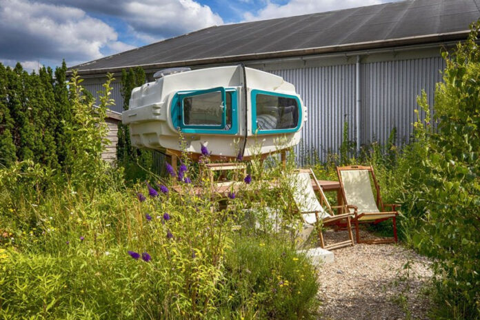 acampamento camping sustentável Roterdã