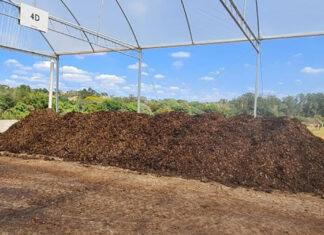 compostagem esgoto piracicaba