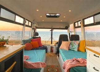 casa móvel ônibus australianos