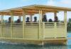 taxi barco de bambu