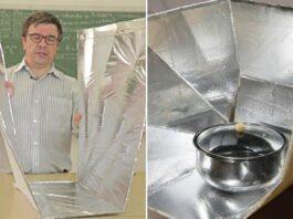 Como fazer um forno solar gastando pouco