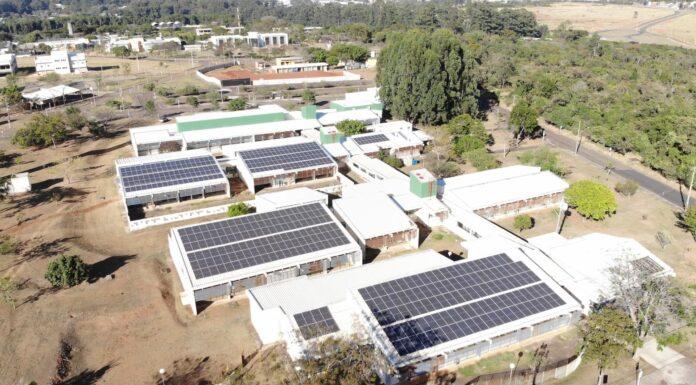 energia solar na Ufscar