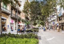 Barcelona áreas verdes