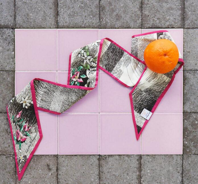 tecido de bagaço de laranja