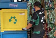 coleta de plástico green mining