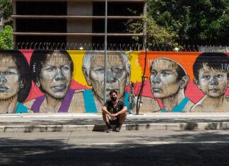 grafite indígenas são paulo