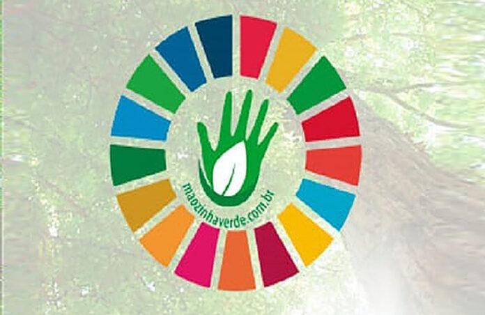sustentabilidade mãozinha verde