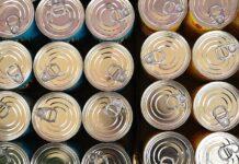 latas de aço reciclagem