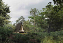 kit cabana montagem