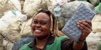 queniana tijolo plastico