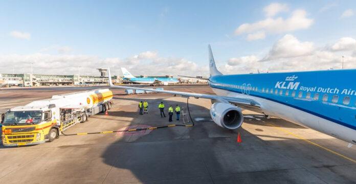 avião querosene sustentável