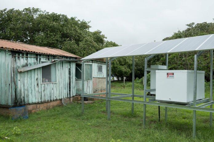 energia solar Pantanal