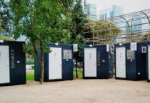 escritórios cabines Chile