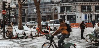 bicicleta elétrica França