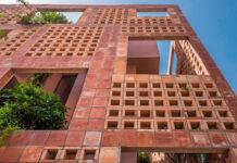 casa tijolos jardins Vietnã