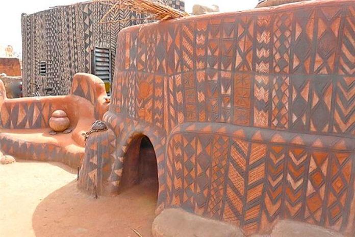 casas de barro decoradas