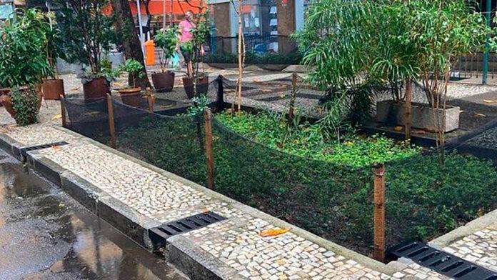 jardim de chuva Copacabana