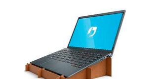 caixas suporte laptop Positivo
