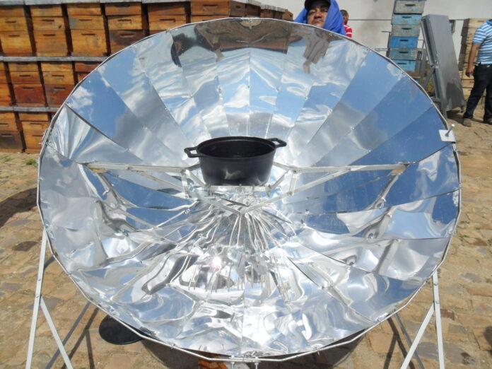 fogão solar