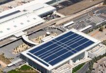 Energia solar em aeroportos