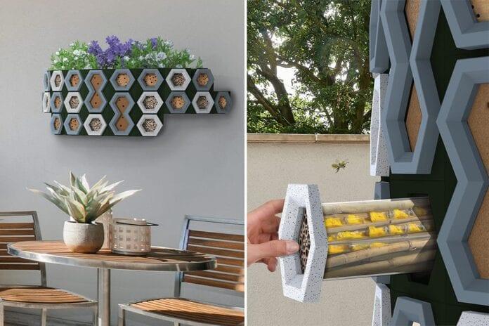 casa para abelhas