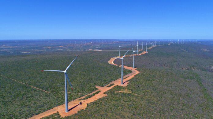 Parque eólico Lagoa dos Ventos