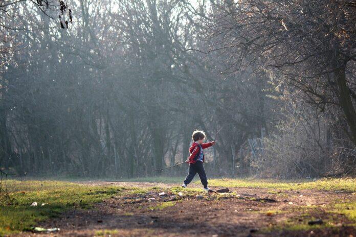 natureza e crianças