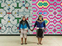 exposição indígenas sesc